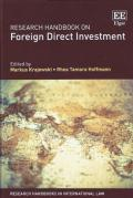 Cover of Research Handbook on Foreign Direct Investment