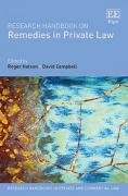 Cover of Research Handbook on Remedies in Private Law