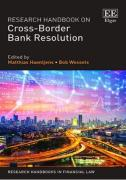 Cover of Research Handbook on Cross-Border Bank Resolution