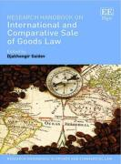 Cover of Research Handbook on International and Comparative Sale of Goods Law