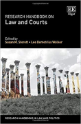Cover of Research Handbook on Law and Courts