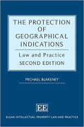 Cover of The Protection of Geographical Indications: Law and Practice