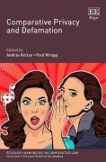 Cover of Comparative Privacy and Defamation