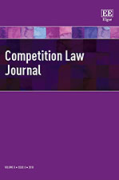 Cover of Competition Law Journal: Print + Online