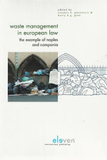 Cover of Waste Management in European Law: The Example of Napels and Campania