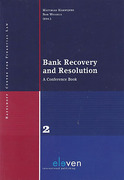 Cover of Bank Recovery and Resolution: A Conference Book