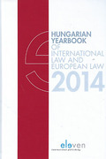 Cover of Hungarian Yearbook of International Law and European Law 2014