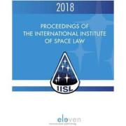 Cover of Proceedings of the International Institute of Space Law 2018