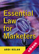 Cover of Essential Law for Marketers (eBook)