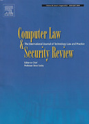 Cover of Computer Law and Security Review: The International Journal of Technology Law and Practice
