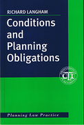 Cover of Conditions and Planning Obligations