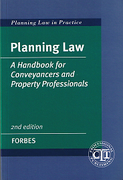 Cover of Planning Law: A Handbook for Conveyancers and Property Professionals