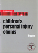 Cover of Childrens Personal Injury Claims