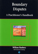 Cover of Boundary Disputes: A Practitioners's Handbook