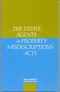 Cover of The Estate Agents and Property Misdescriptions Acts