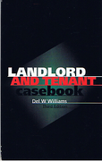 Cover of Landlord and Tenant Casebook
