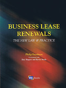 Cover of Business Lease Renewals: The New Law & Practice