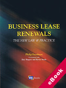 Cover of Business Lease Renewals: The New Law & Practice (eBook)