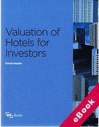 Cover of Valuation of Hotels for Investors (eBook)