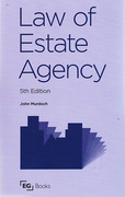 Cover of Law of Estate Agency