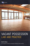 Cover of Vacant Possession: Law and Practice