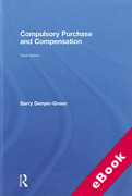 Cover of Compulsory Purchase and Compensation (eBook)