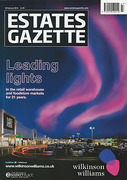 Cover of Estates Gazette Magazine: Print