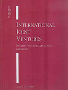 Cover of International Joint Ventures