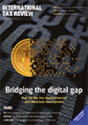 Cover of International Tax Review: Print + Online