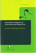 Cover of Sustainable Development in International and National Law