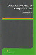 Cover of Concise Introduction to Comparative Law