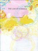 Cover of The Law of Evidence 1st ed