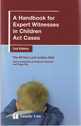 Cover of A Handbook for Expert Witnesses in Children Act Cases