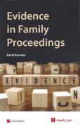 Cover of Evidence in Family Proceedings
