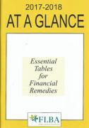 Cover of At A Glance 2017-18: Essential Tables for Financial Remedies