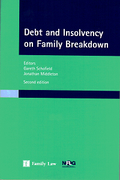 Cover of Debt and Insolvency on Family Breakdown