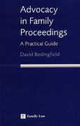 Cover of Advocacy in Family Proceedings