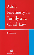Cover of Adult Psychiatry in Family and Child Law