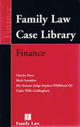 Cover of Family Law Case Library: Finance