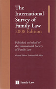 Cover of The International Survey of Family Law 2008