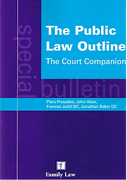 Cover of The Public Law Outline: The Court Companion A Special Bulletin