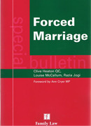 Cover of Forced Marriage: A Special Bulletin