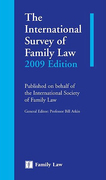 Cover of The International Survey of Family Law 2009