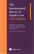 Cover of The International Survey of Family Law 2010