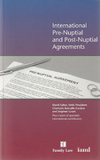 Cover of International Pre-Nuptial and Post-Nuptial Agreements