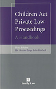 Cover of Children Act Private Law Proceedings: A Handbook