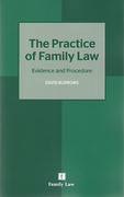 Cover of Practice of Family Law: Evidence and Procedure