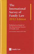 Cover of The International Survey of Family Law 2012