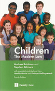 Cover of Children: The Modern Law