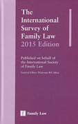 Cover of The International Survey of Family Law 2015